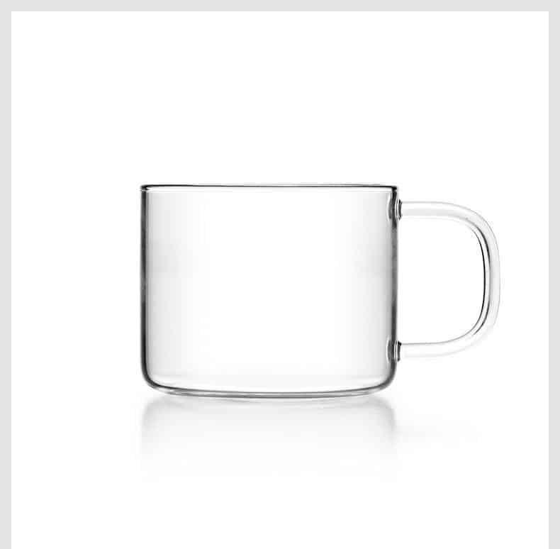 Yomoto Beatriz Glass Tea Set 900ml /4+1pcs unique and elegant Kettle