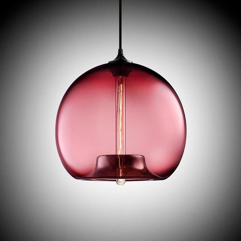 Freelight Glass Globe Pendant Light