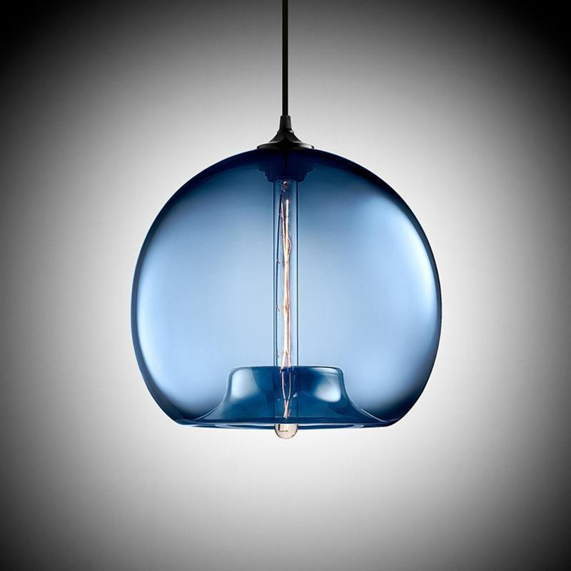 Freelight Glass Globe Pendant Light