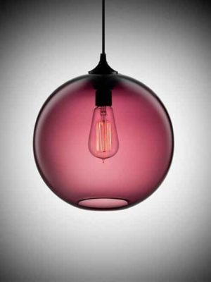 Freelight Loft Glass Globe Pendant Light
