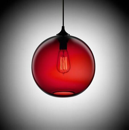 Freelight Loft Glass Globe Pendant Light