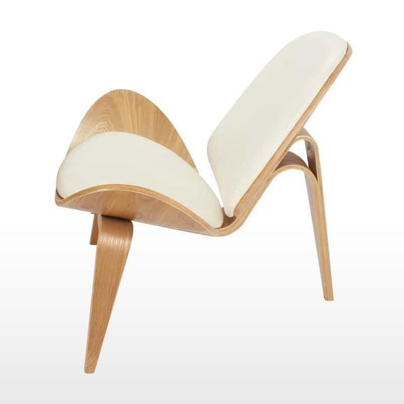 Lucetta Natural Chair / Legged Shell Chair