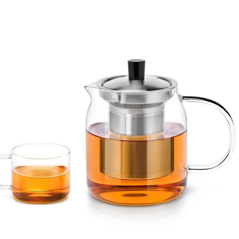 Yomoto Nakama Glass Tea Set 700ml /4+1pcs unique and elegant Kettle
