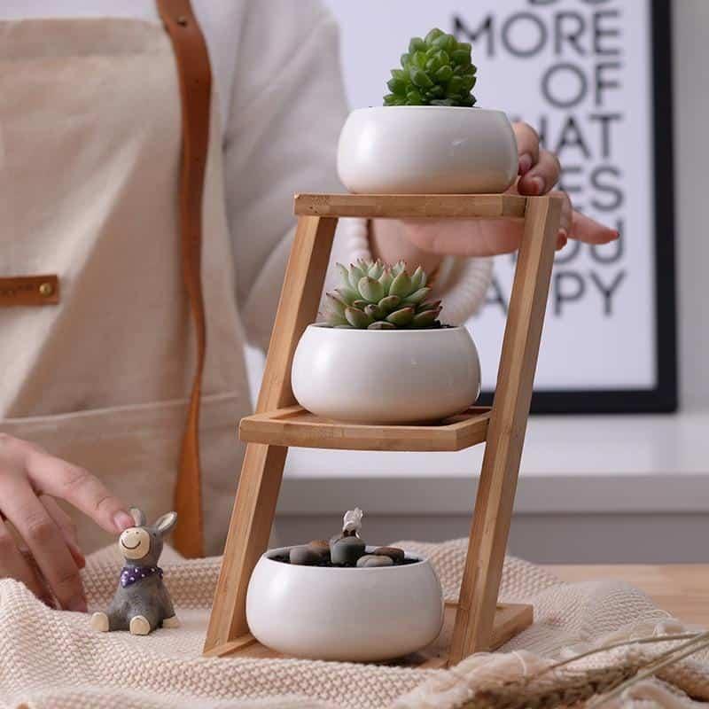 Perfect Trio Ceramic Flower Planters