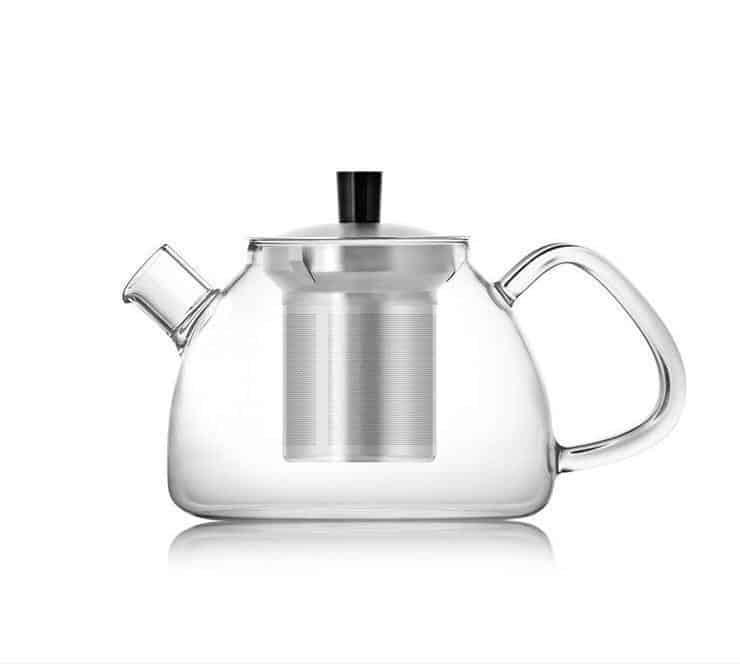 Yomoto Hiroi Glass Tea Set 900ml unique and elegant Kettle