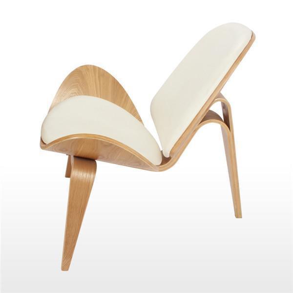 Lucetta Natural by Hannes Malmström / Legged Shell Chair Chair