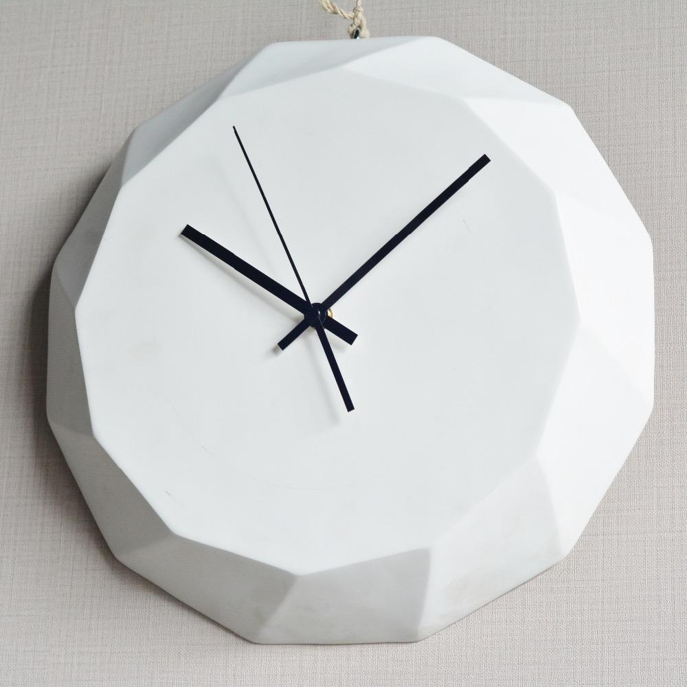 Diamond by Ciara Wall Clock