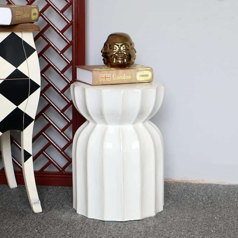 Kyleigh Goodman Porcelain Stool/Table
