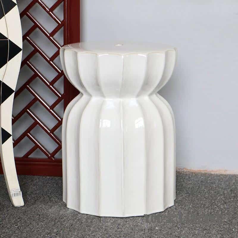 Kyleigh Goodman Porcelain Stool/Table Stool