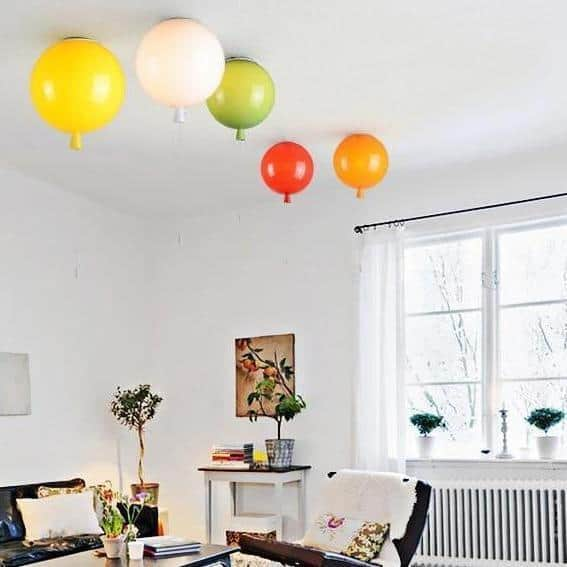 Colorful Fly With Me Pendant Lamp