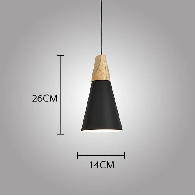 LUST Pedant Lamp Pendant Light Lunar black / Ø14cm