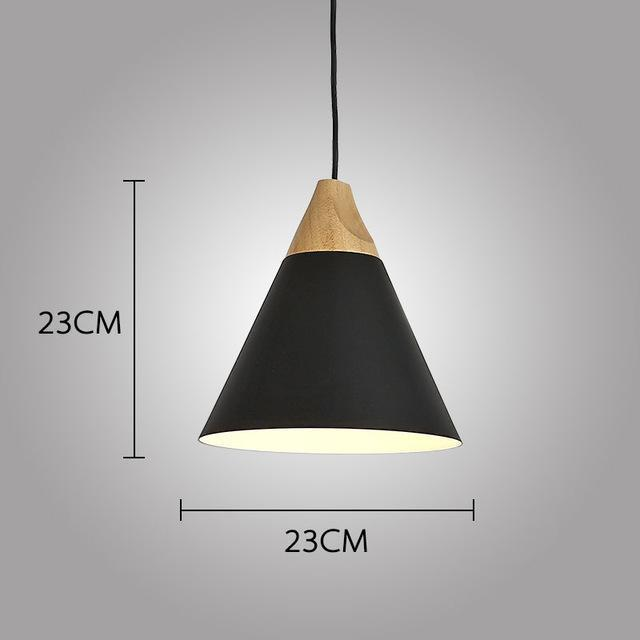 LUST Pedant Lamp Pendant Light Lunar black / Ø23cm