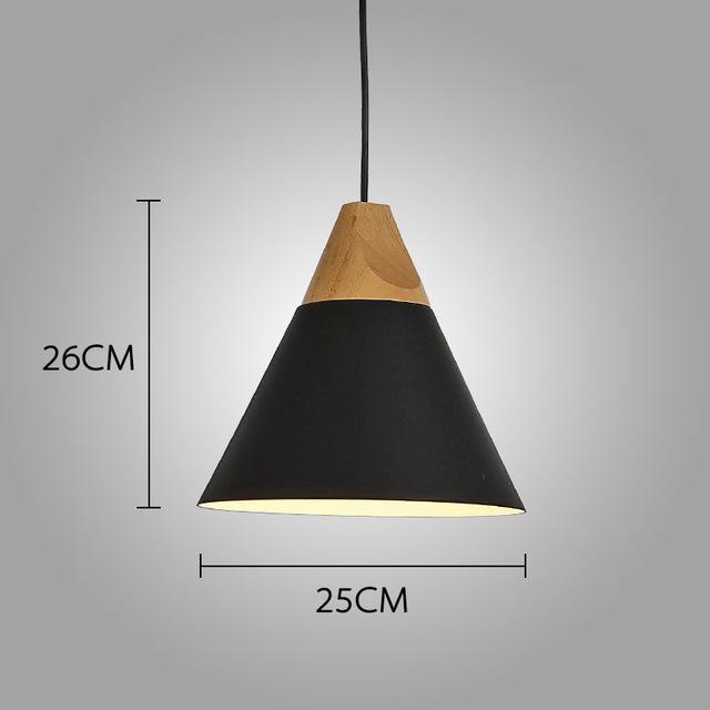 LUST Pedant Lamp Pendant Light Lunar black / Ø25cm