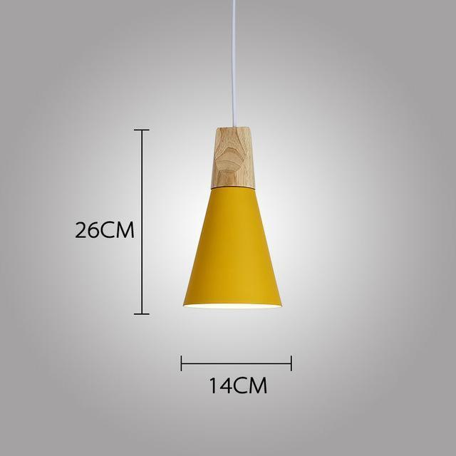 LUST Pedant Lamp Pendant Light Lunar yellow / Ø14cm