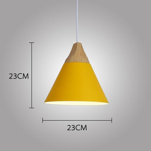 LUST Pedant Lamp Pendant Light Lunar yellow / Ø23cm