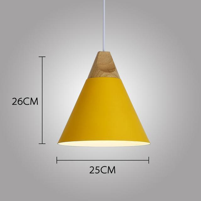 LUST Pedant Lamp Pendant Light Lunar yellow / Ø25cm