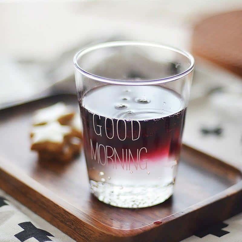 Dylan / Good Morning Glass 350ml /2pcs