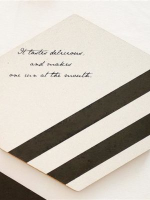 Hexadine by Nina Haltiner Coaster