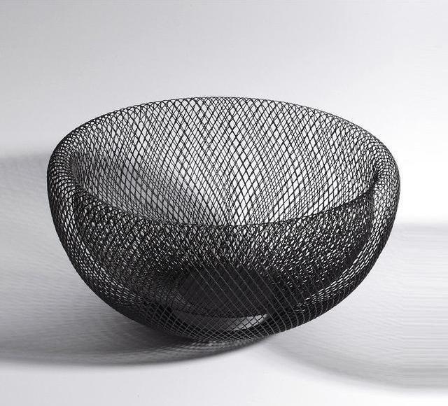 Dominique by Frederick Vaux Storage Baskets unique and elegant Basket Ø28cm