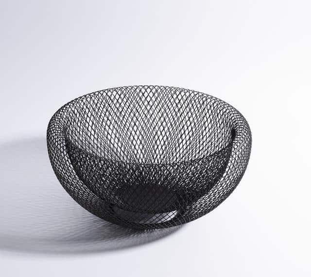 Dominique by Frederick Vaux Storage Baskets unique and elegant Basket Ø18cm