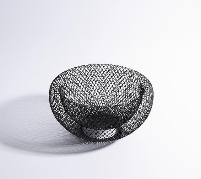 Dominique by Frederick Vaux Storage Baskets unique and elegant Basket Ø12cm