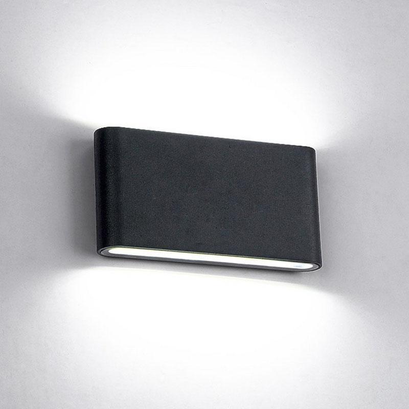 VERONICA Big Light Wall Lamp - Artist Design Deep black / 12W / Cool white