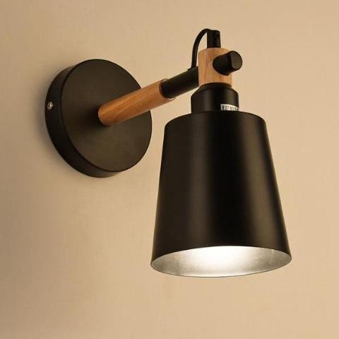 Utan Candle Droplight Wall Lamp Wall lamp Deep black