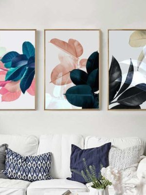 Colorful Flowers & Appeasement | Unframed Canvas Art