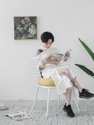 Framezoga White Chair