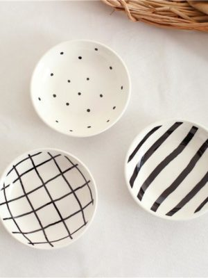 B&W by Una Hubmann 3pcs/set