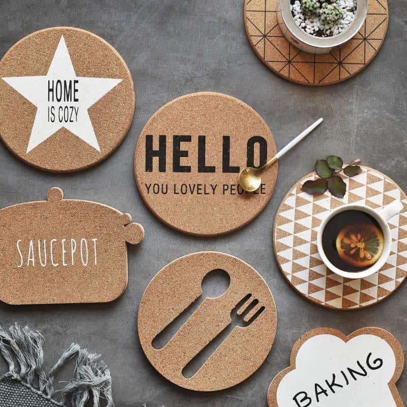Wooden by Nina Haltiner Coaster