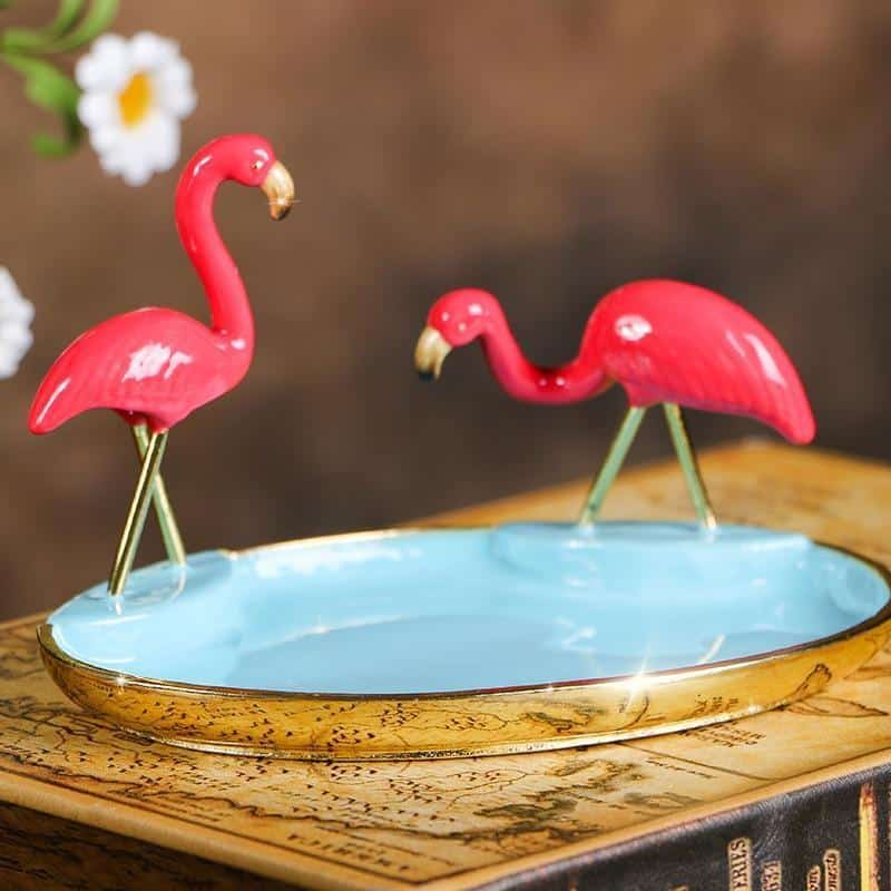 Söderholm Rainflamingo Jewelry Tray Decor Tray