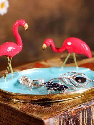 Söderholm Rainflamingo Jewelry Tray