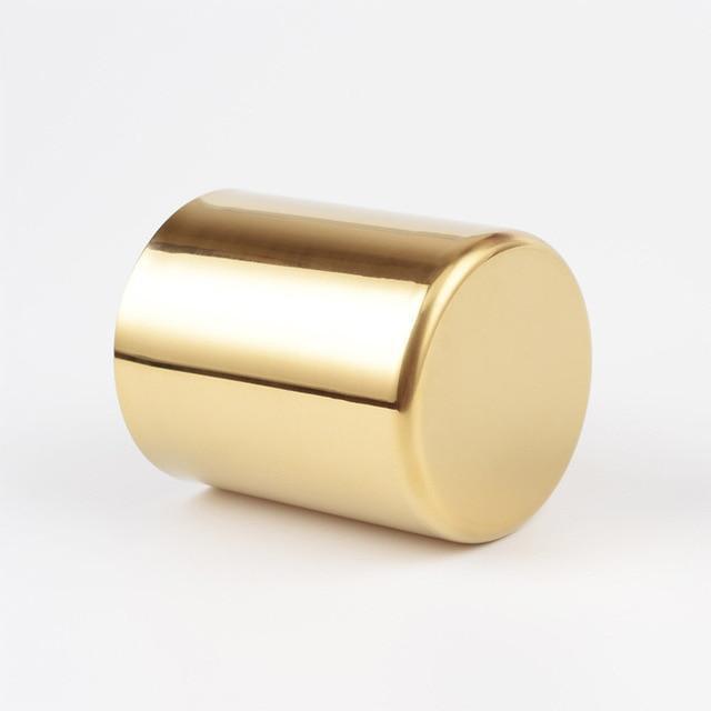 Perfecto by Bjorkman Fluttergold Golden Vase/Pen Holder Vase Default Title