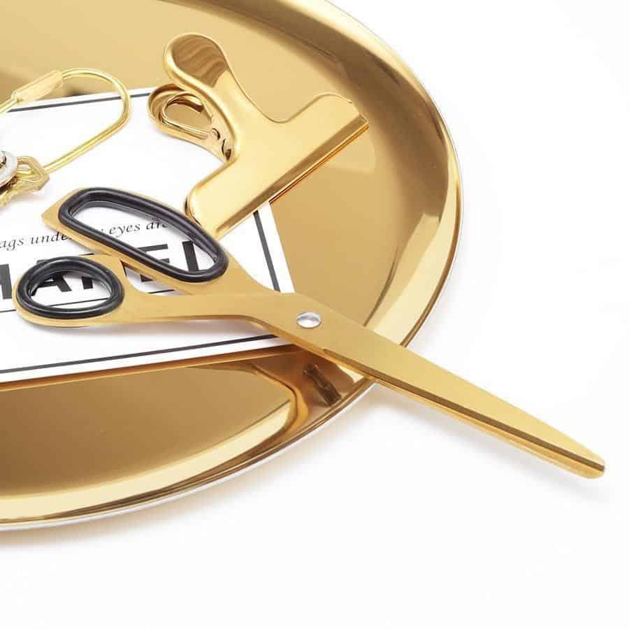 Eliot Booker Asymmetric Scissors / Gold Scissor