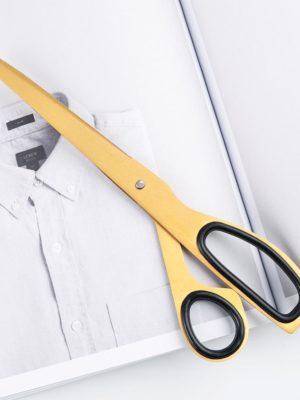 Eliot Booker Asymmetric Scissors / Gold