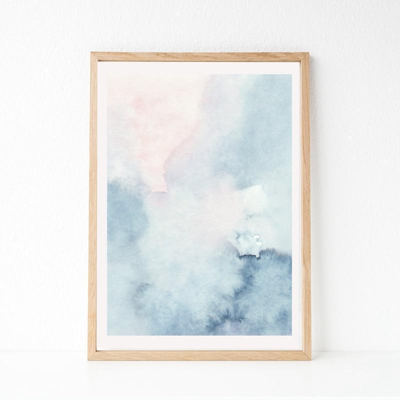 Pink Paradise View Canvas print - Wall Art