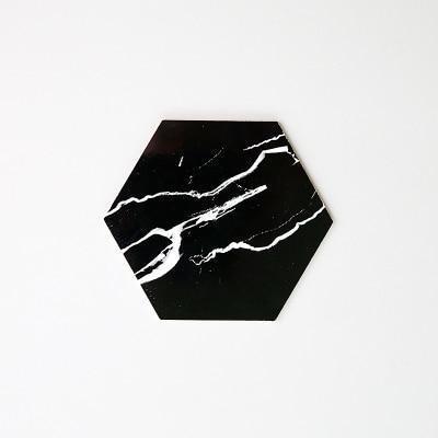 Macey by Nina Haltiner Coaster Coaster Deep marble / Ø10cm