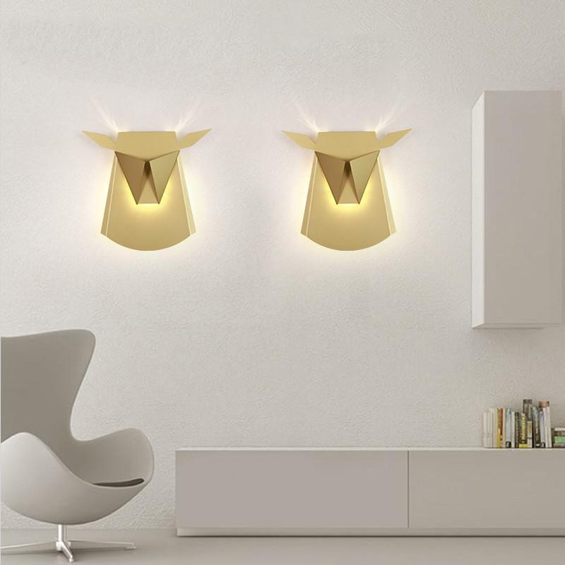 Golden Tjur BW, Wall/Bed Lamp