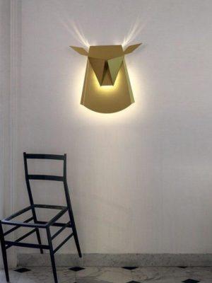 Golden Tjur BW, Wall/Bed Lamp