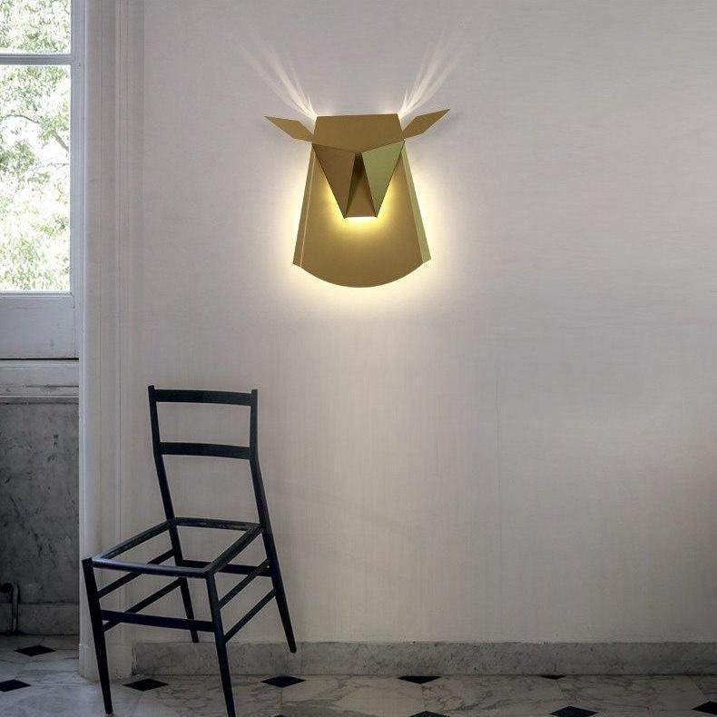 Golden Tjur BW, Wall/Bed Lamp Wall lamp