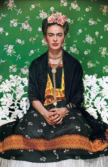 Rebel Frida Kahlo Meditation Canvas print - Wall Art