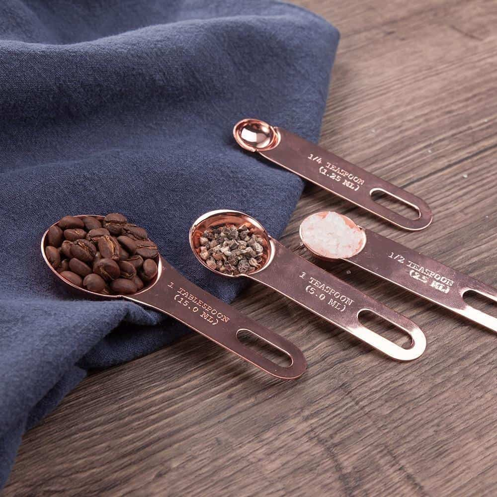 Tiffany by Chloé Stainless Measuring Scoop 4pcs/set unique and elegant Dinnerware