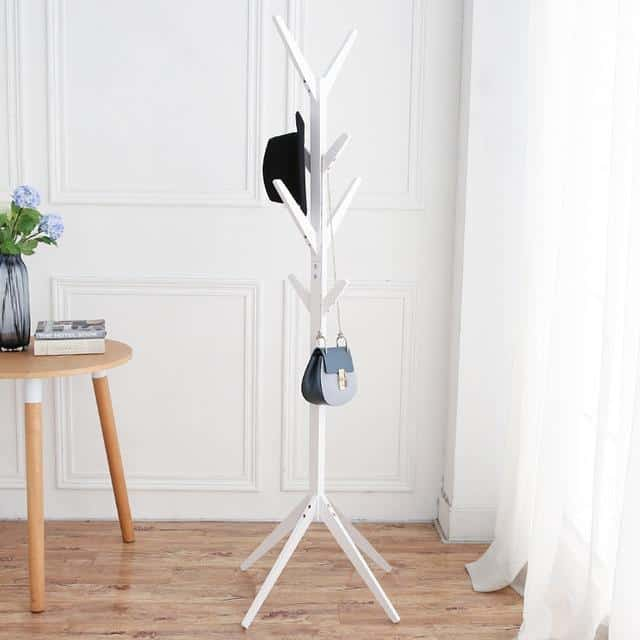 Polygon Clothes Hanger Wall hook Perfect white