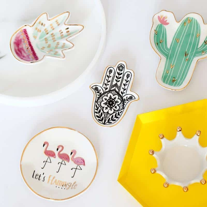 Emmelie Cactusiela Island Jewelry/Decorative Trays Decor