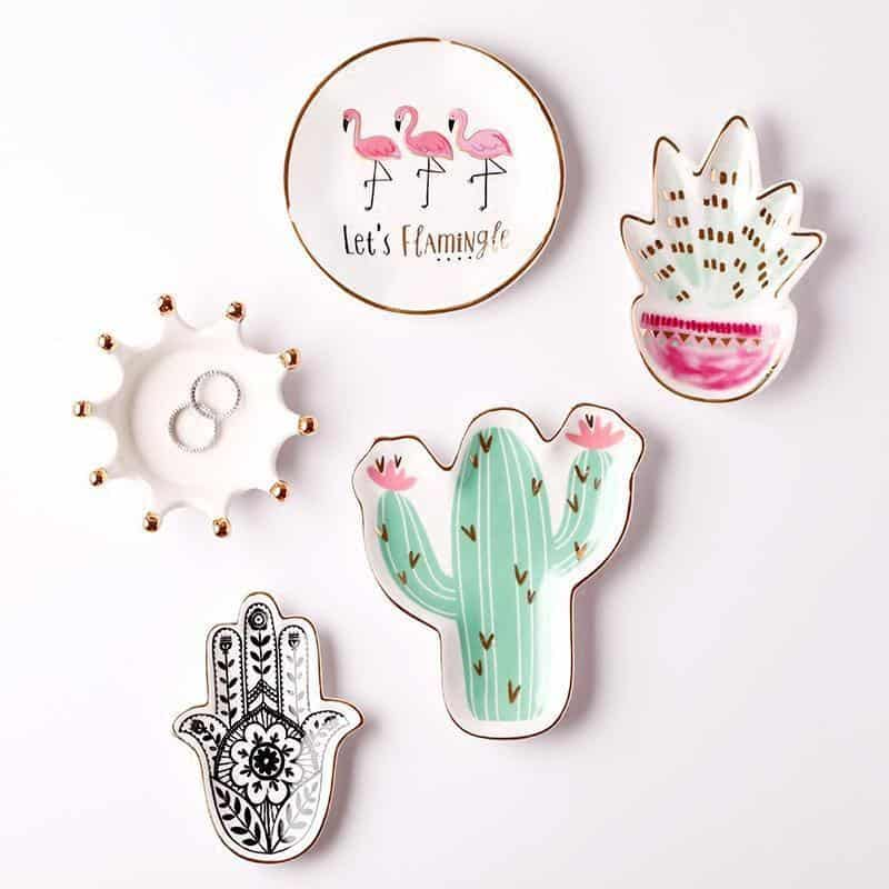 Emmelie Cactusiela Island Jewelry/Decorative Trays