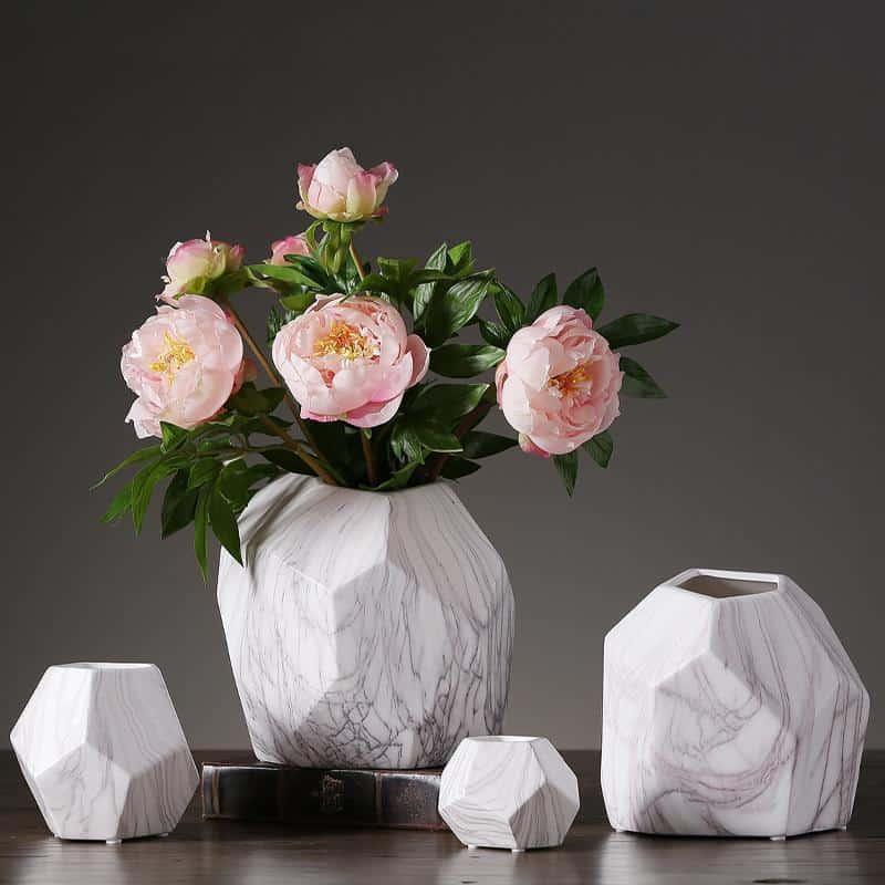 Marble Geometrik by Henry Jacobsson Vase Vase