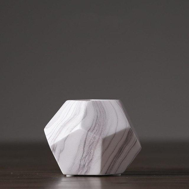 Marble Geometrik by Henry Jacobsson Vase Vase Geometrik S