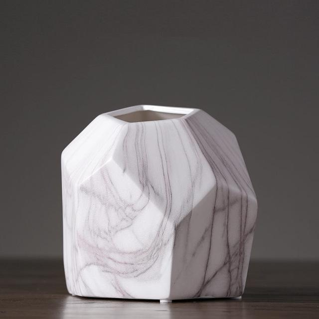 Marble Geometrik by Henry Jacobsson Vase Vase Geometrik L