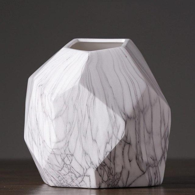 Marble Geometrik by Henry Jacobsson Vase Vase Geometrik XL